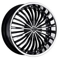 2Crave No.13 Wheel Rim 22x8.5 5x114.3 ET+38mm 74.10mm Glossy Black/ Machined Face/ Machine Lip