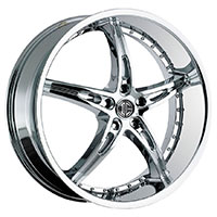 2Crave No.14 Wheel Rim 18x7.5 5x100 ET+40mm 72.56mm Chrome
