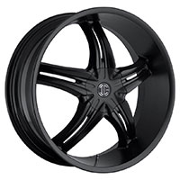 2Crave No.15 Wheel Rim 22x9.5 5x114.3/5x120.65 ET+15mm 78.30mm Satin Black