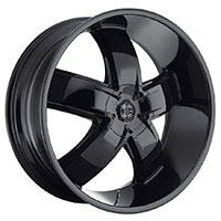 2Crave No.18 Wheel Rim 20x9.5 5x115/5x120 ET+15mm 74.10mm Glossy Black