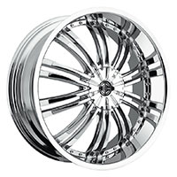 2Crave No.1 Wheel Rim 18x7.5 5x112/5x114.3 ET+40mm 72.56mm Chrome