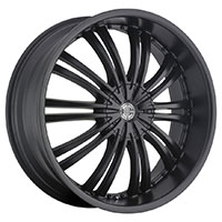 2Crave No.1 Wheel Rim 20x8.5 5x110/5x115 ET+40mm 74.10mm Satin Black