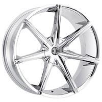 2Crave No.29 Wheel Rim 24x9.5 ET+15mm 78.30mm Chrome
