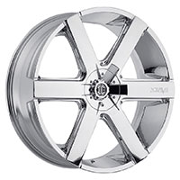 2Crave No.31 Wheel Rim 22x9.5 6x114.3/6x120 ET+15mm 78.30mm Chrome