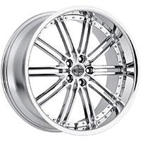 2Crave No.33 Wheel Rim 20x10 5x112 ET+42mm 66.56mm Chrome