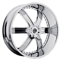 2Crave No.4 Wheel Rim 20x9.5 5x114.3/5x127 ET+30mm 78.30mm Chrome