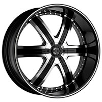 2Crave No.4 Wheel Rim 20x9.5 5x112 ET+30mm 78.30mm Glossy Black/ Machined Face