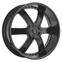 2Crave No.4 Wheel Rim 20x9.5 5x114.3/5x127 ET+15mm 78.30mm Satin Black