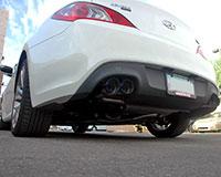 Agency Power Catback Exhaust Hyundai Genesis 2.0 Turbo 09-12