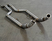 Agency Power High Flow Cat Downpipes Mercedes-Benz CLS63 AMG 11-12