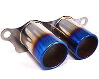 Agency Power Titanium Exhaust Burnt Tips Porsche 997 GT3 GT3RS 07-12