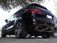 Agency Power Super Sport Muffler Exhaust Porsche Cayenne S V6 V8 11-12