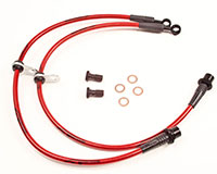 Agency Power Front Steel Braided Brake Lines Scion TC 05-10