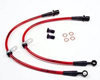 Agency Power Front Steel Braided Brake Lines Subaru WRX 08-12