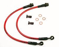 Agency Power Rear Steel Braided Brake Lines Mazda RX7 93-95