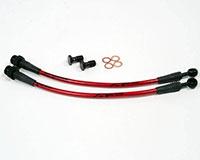 Agency Power Rear Steel Braided Brake Lines Nissan 240SX S13 89-94