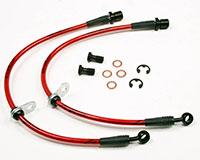 Agency Power Rear Steel Braided Brake Lines Subaru WRX 08-12