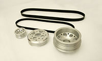 Agency Power 3pc Underdriven Pulley Kit Nissan 350Z Infiniti G35 Z33 03-05