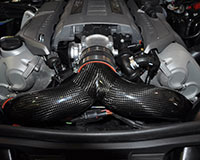 Agency Power Carbon Fiber 3inch Y-Pipe Porsche Panamera Turbo 10-12