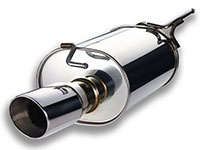 Apexi Hybrid Megaphone EVO Exhaust Nissan Silvia 99-02 70-80mm Piping 115mm Tip