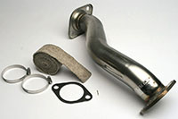 Apexi GT Downpipe Mitsubishi Lancer EVO X 08+ 70mm Piping