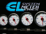 Apexi E.L. II System Meters Mechanical Boost KPA White (Does not use Control Box)   *Black Bezel