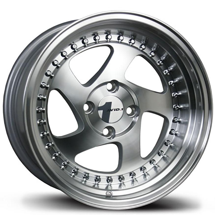 AVID1 AV 19 Wheel Rim 15x8 4x100 ET25 73 1 Machined/Polished Lip