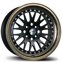 AVID1 AV 12 Wheel Rim 15x8 4x100 ET25 73.1 Matte Black/ Bronze Lip