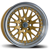 AVID1 AV 12 Wheel Rim 15x8 4x100 ET25 73.1 Gold/Machined Lip