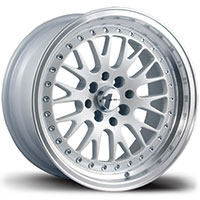 AVID1 AV 12 Wheel Rim 15x8 4x100 ET25 73.1 White/Machined Lip