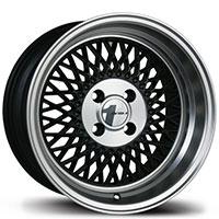 AVID1 AV 18 Wheel Rim 15x8 4x100 ET25 73.1  Matte Black/Machined Lip