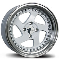 AVID1 AV 19 Wheel Rim 15x8 4x100 ET25 73.1 White/Polished Lip