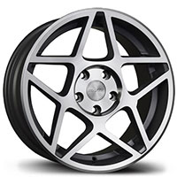 AVID1 AV 52 Wheel Rim 17x8 5x100 ET35 73.1 Machined