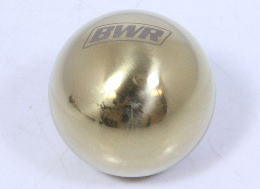 Blackworks Racing Ball Type Weighted Shift Knob -Gold 10x1 5