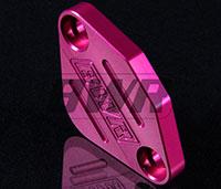 Blackworks Racing EGR Block Off Plate - Pink