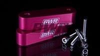 Blackworks Racing Hood Risers (Pair) Pink