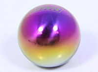 Blackworks Racing Ball Type Weighted Shift Knob -Neochrome 10x1.5