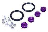 Blackworks Racing Bumper Quick Release Set-Purple