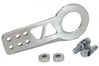 Blackworks Racing Front Tow Hook - Silver