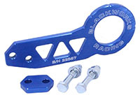Blackworks Racing Rear Tow Hook - Blue
