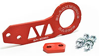 Blackworks Racing Rear Tow Hook - Red