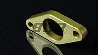Blackworks Racing Clutch Master Cylinder Adapter Spacer : S2000 use with EG/EK/DC - Gold