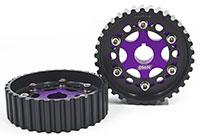 Blackworks Racing Adjustable Cam Gears B-Series - Purple