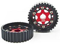 Blackworks Racing Adjustable Cam Gears B-Series - Red