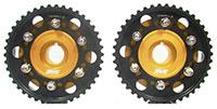 Blackworks Racing Adjustable Cam Gears H-Series - Gold