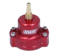 Blackworks Racing Fuel Pressure Regulator: Univ Red