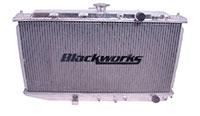 Blackworks Racing Aluminum Radiator: Honda CRX 88-91