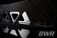 Blackworks Racing Subframe Brace: Civic 96-00 (SL Limited Engraved Series) (Silver)