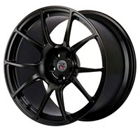 Buddy Club P1 Supremo Forged 20X10 ET40 5X114.3 Anodized Black (GT-R Front)