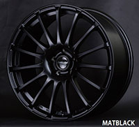 Buddy Club Zen 19X8.5 ET42 5X114.3 Matte Black